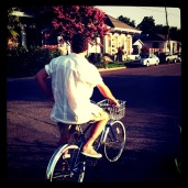 Early-morning bike ride with Hal in Algiers