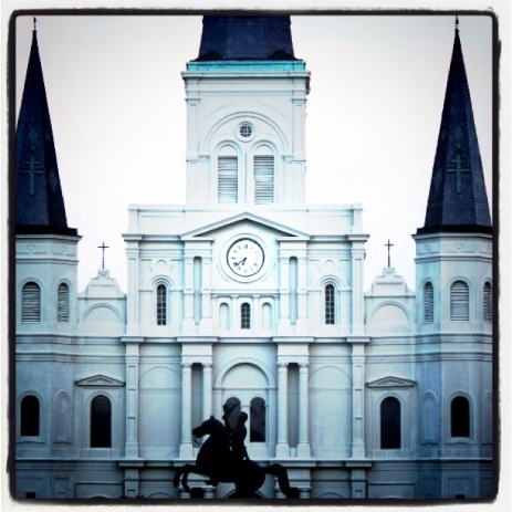 The requisite Jackson Square photo