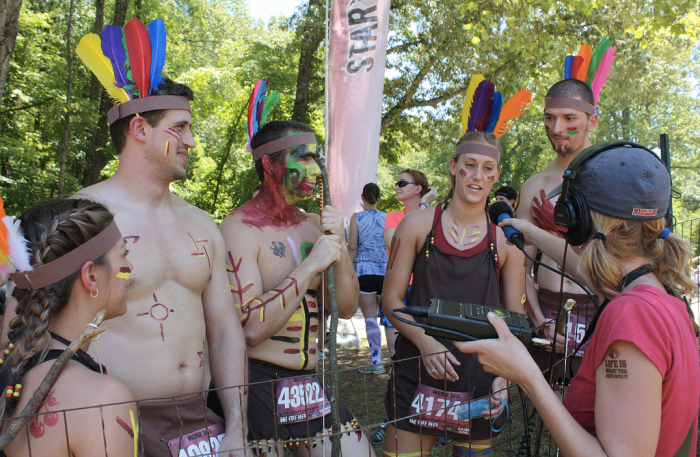 Warrior Dash interview