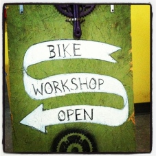 Bike workshop - A cool idea, well implemented