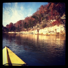 Kayaking the Buffalo