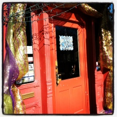 Orange Door on Magazine St.