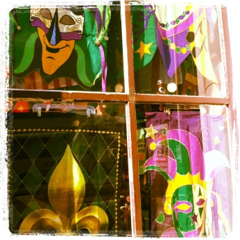 Shop Window with Masks