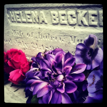 Flowers for Helena