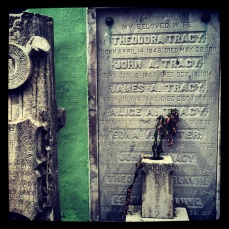 Tracy family grave