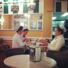 Break Time at Cafe du Monde