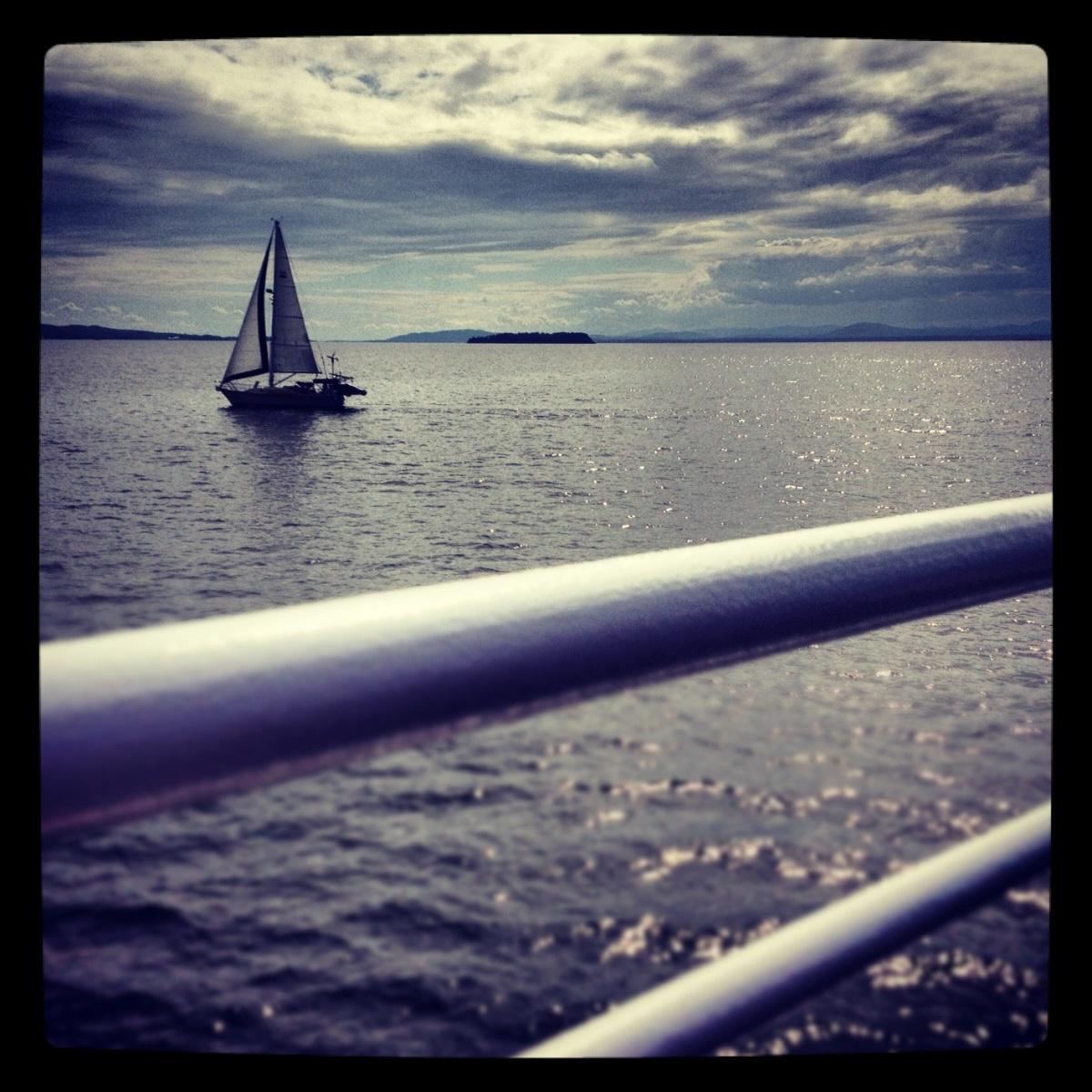 Champlain sailboat