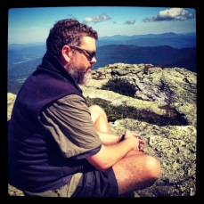 Hal on Mt. Mansfield