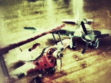 Snapseed toy planes