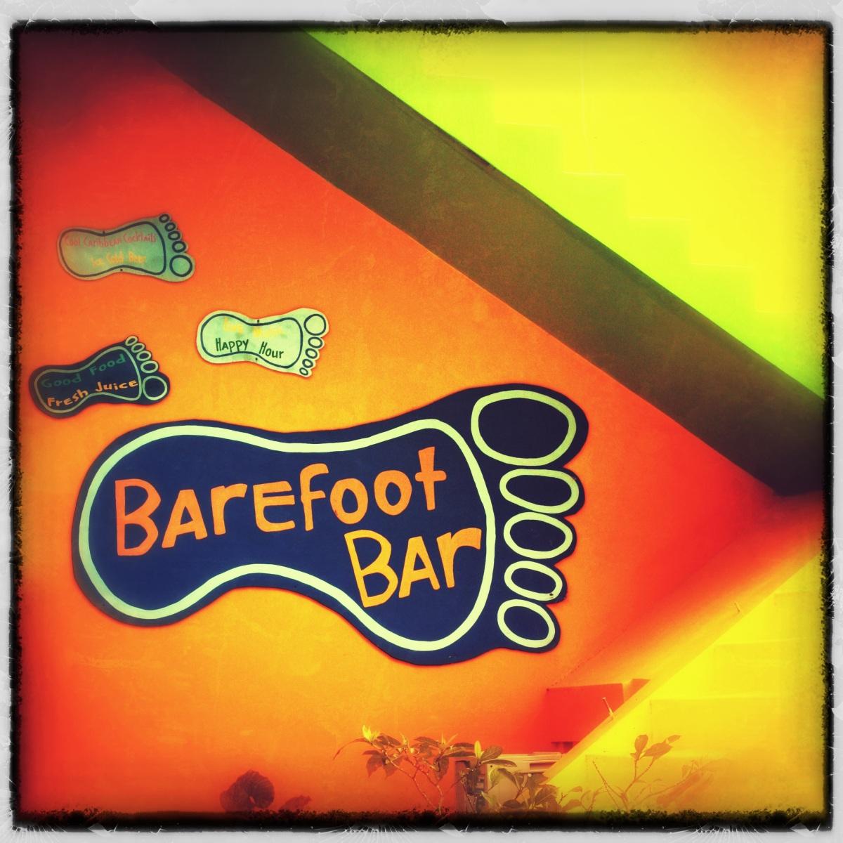 Barefoot bar