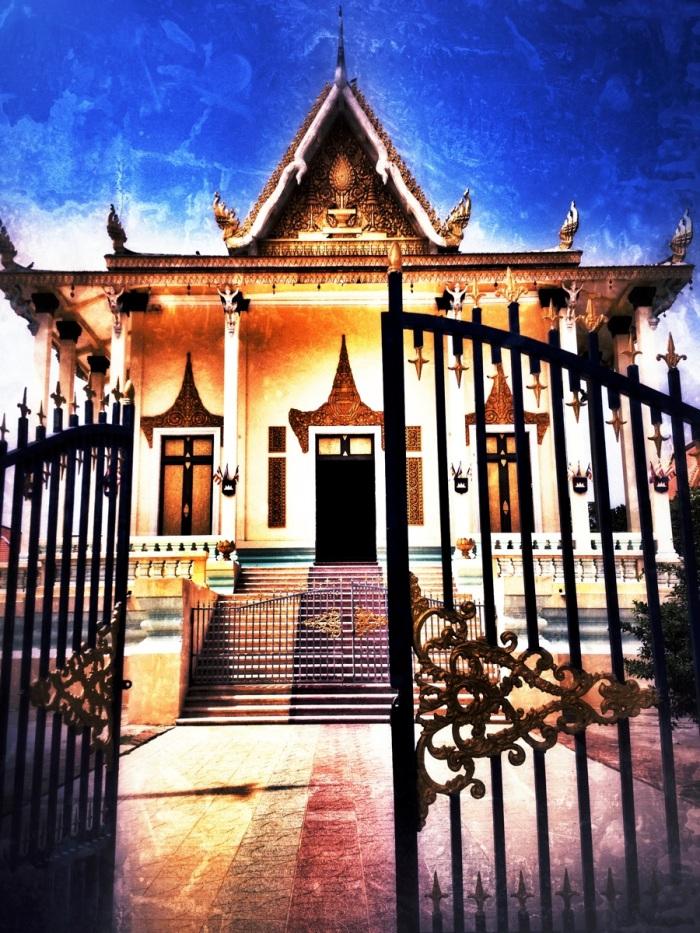 Pagoda grounds