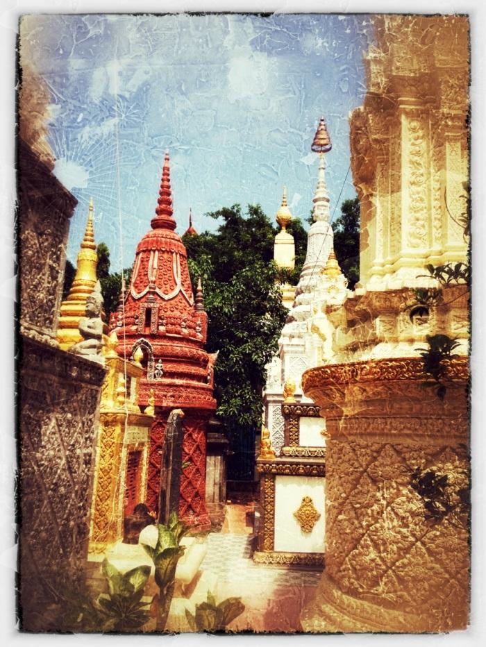 round stupas