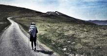 Pyrenees pilgrim