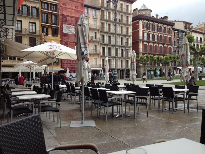 Café Iruña en Pamplona
