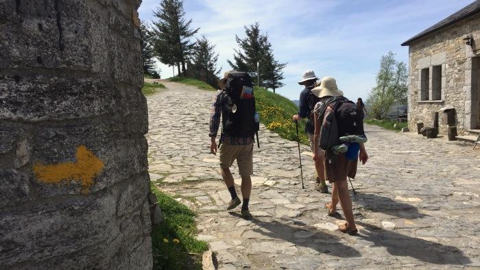 Climbing to O Cebreiro