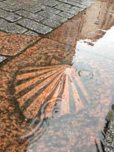 Rainy Burgos street