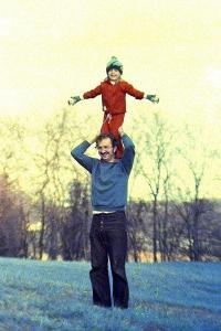 Kim & Dad