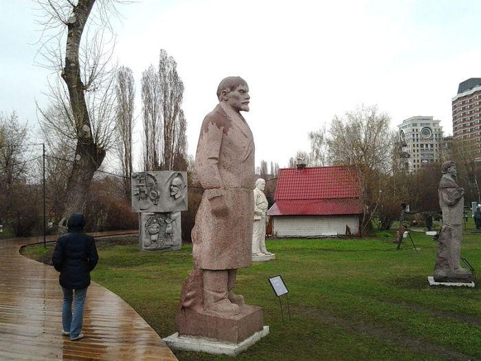 Muzeon—park of fallen monuments, circa 2013 (photo by Sergey Rodovnichenko)