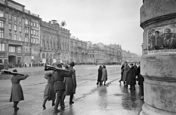 Leningrad, October 1941 (photo: RIA Novosti)
