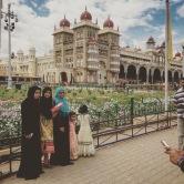 Mysore Palace photo op