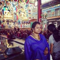 Bylakuppe temple tourist
