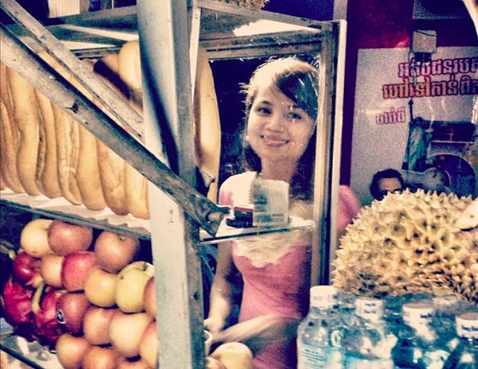 Kampong Thom vendor